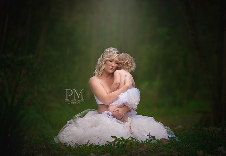 Gold Coast Forrest Maternity Portrait, Pregnant Memories Meg Bitton.